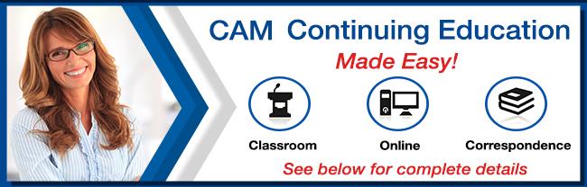 CAM Continuing Education