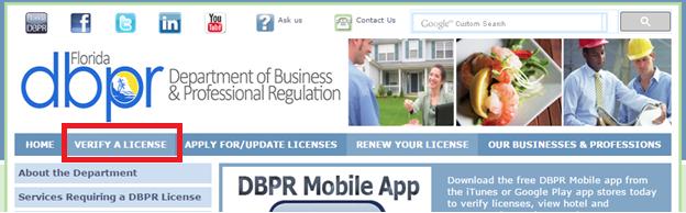 homepage-dbpr