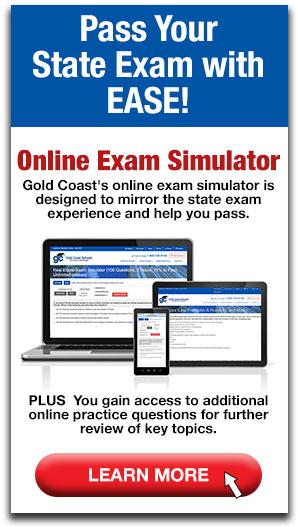 Image of exam simulator on desktop, moblie and ipad.